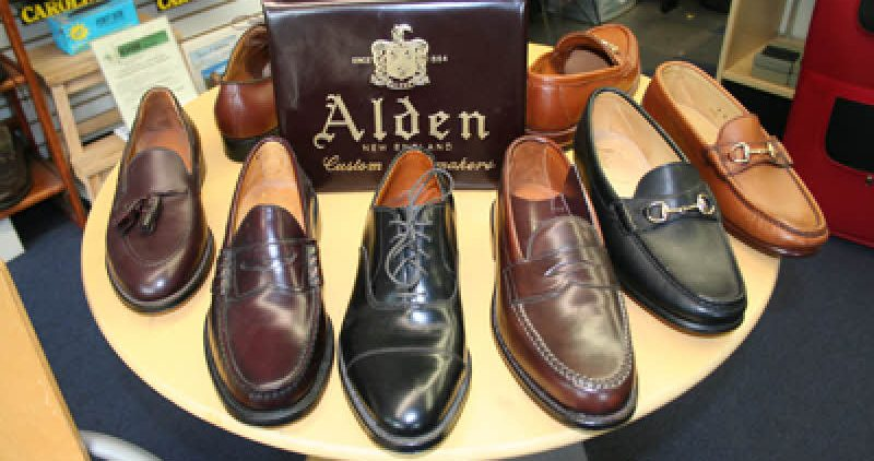 Alden Shoes Chestnut Hill Carman's Shoe repair