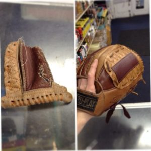 leather baseball glove fix restoration Chestnut Hill Philadelphia Carman Shoe Repair