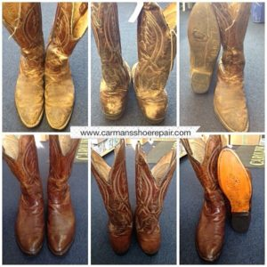 cowboy boot shoe repair recondition Chestnut Hill Philadelphia